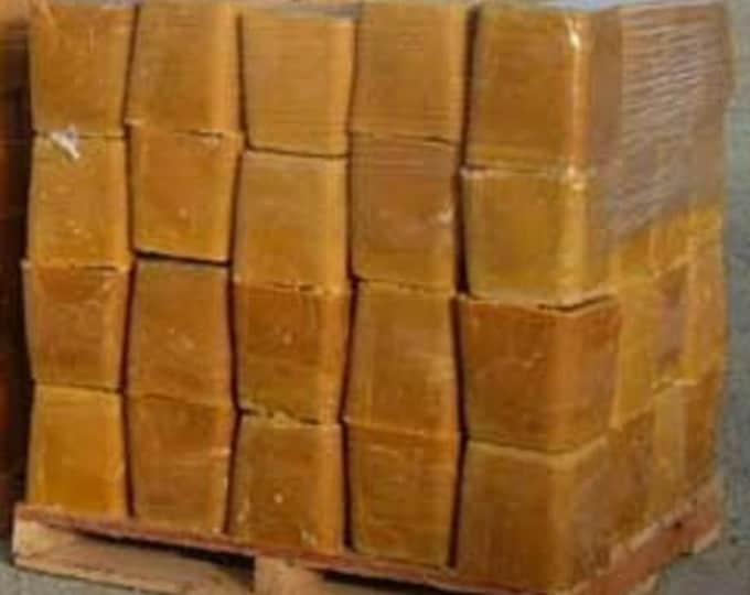 1 Lb Really Raw and 100% Natural Pure Beeswax from Beekeeper 1 pound BROWN color