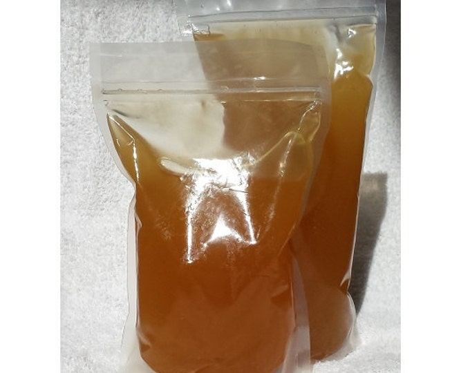 10 Lb (10 Pounds) Wildflower white honey with honeycomb bits 100% pure, whole & natural ( stand-up pouch)