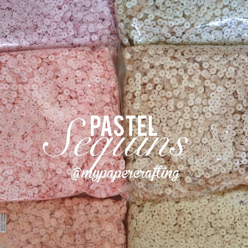 Pastel Sequins image 0