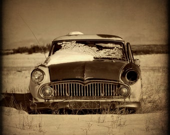 Rustic Photograph Fine Art Photography Vintage Car Wall Art