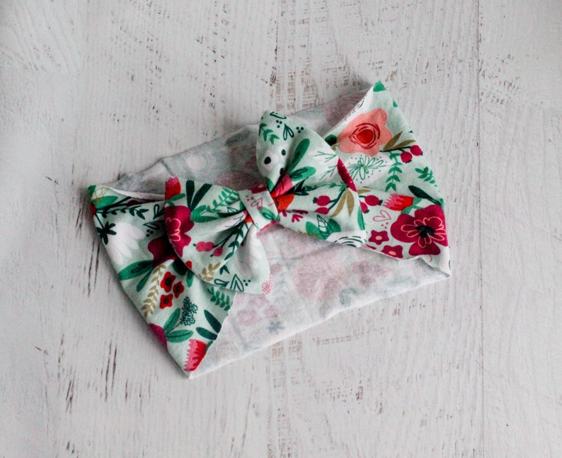 Floral Infant Headwrap Headband