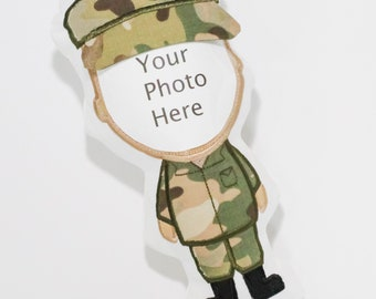 Military Deployment Doll