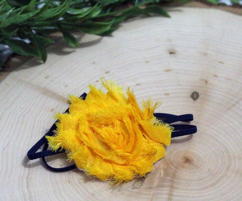 Shabby Flower Headband image 0