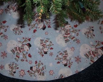 "Snowman Tree skirt 36"""