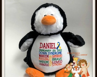 Image of: Koala Down Syndrome Personalized Warrior Pet Stuffed Animal Etsy Down Syndrome Etsy