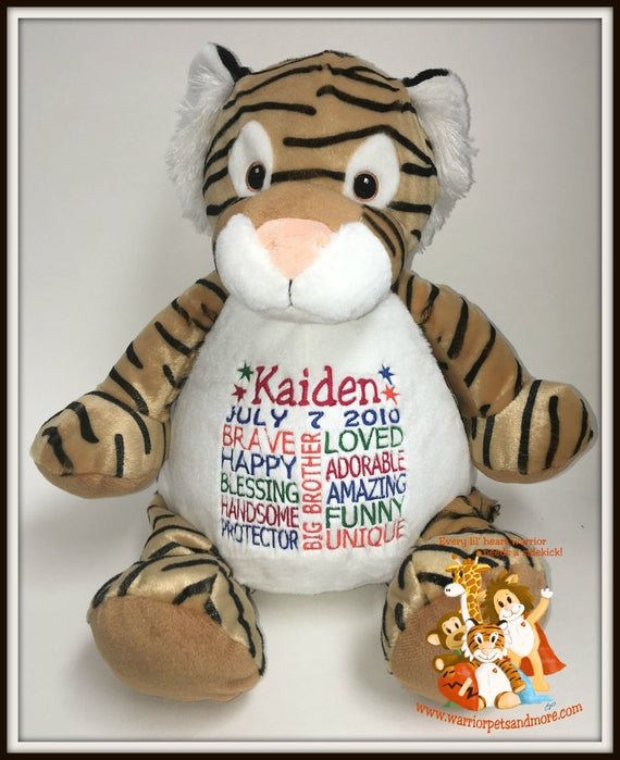 Big brother, personalized stuffed animal