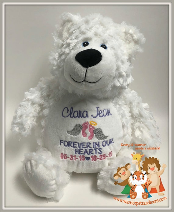 Angel, Pets Personalized, Memory Animals, stuffed animal, Bear