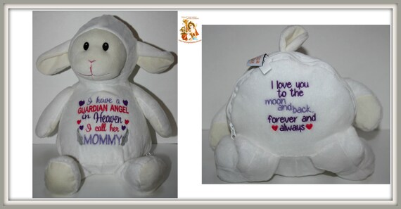 Guardian Angel - I have a Guardian Angel, Mommy, stuffed animal