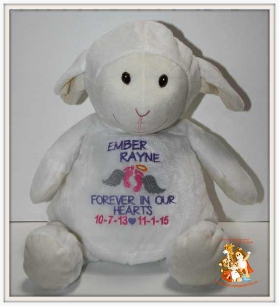 Angel, Pets Personalized, Memory Animals, stuffed animal, lamb