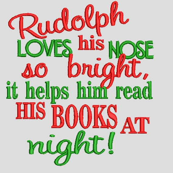 Rudolph  Saying Digital File