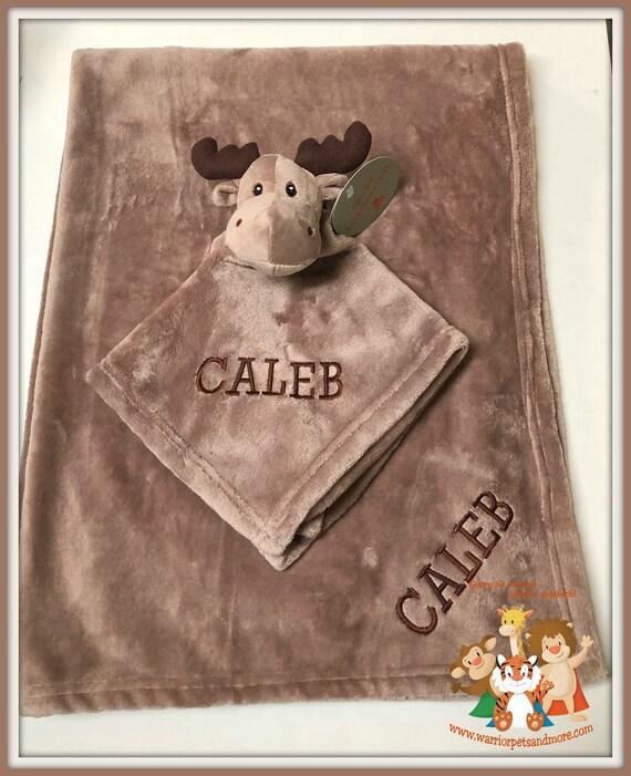 Blanket Set, Blanket and Blankey Pet, Moose