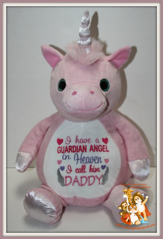 Guardian Angel - I have a Guardian Angel, Daddy, stuffed animal