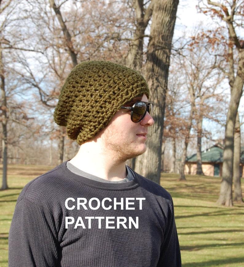 266cf6df687 Men s Brimless Crochet Hat Pattern Super Easy Crochet Hat