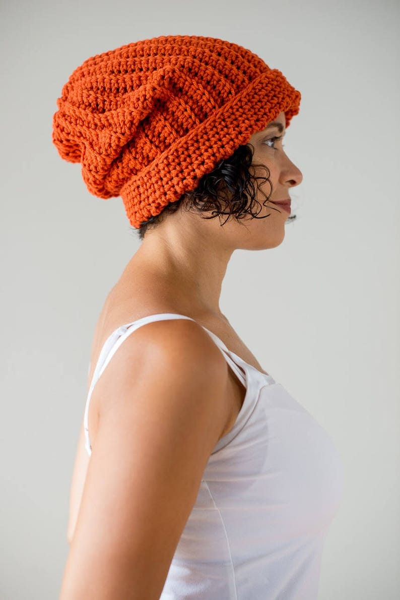 The Ribbed Beanie Crochet Ribbed Style Beanie Hat Pattern Etsy