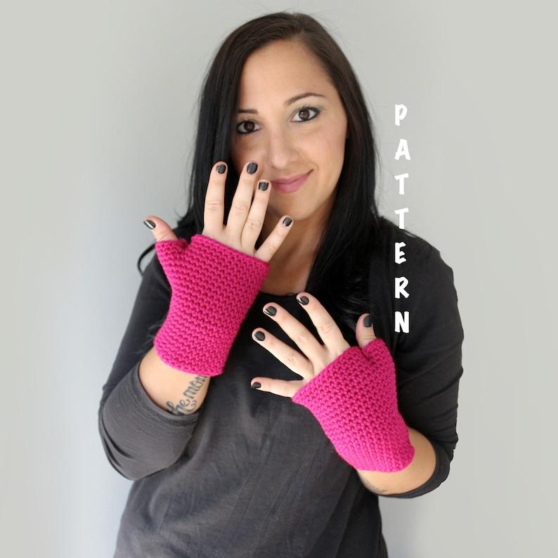 Crochet Fingerless Gloves Pattern PDF Download PATTERN