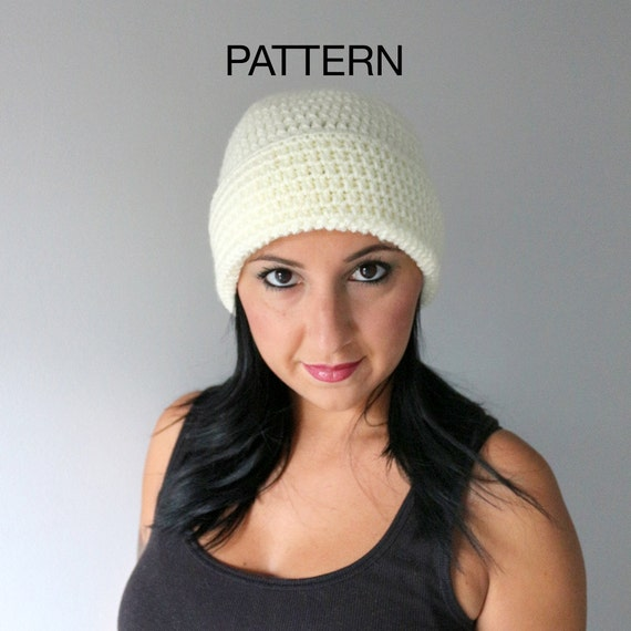 Easy Crochet Hat Pattern Wide Brim Hat Pattern Super Easy  d8087e10283