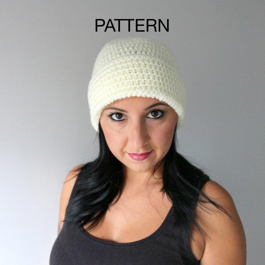 Easy Crochet Hat Pattern Wide Brim Hat Pattern Super Easy  2b90aa5b621