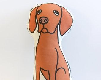 Vizsla Pillow // Illustrated Dog Pillow