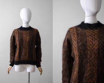 7c64db4e0 Fuzzy brown sweater