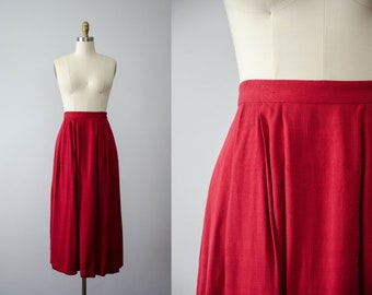 5d299ec176 red midi skirt   paisley skirt   red damask skirt