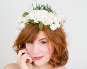 1950s vintage hat / flower hat / Bridal Bouquet