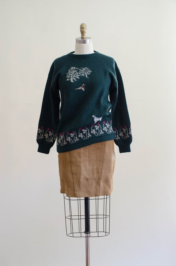 Holland & Holland sweater | green wool sweater | … - image 3