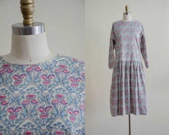 oversized cotton dress | long sleeve dress | flora