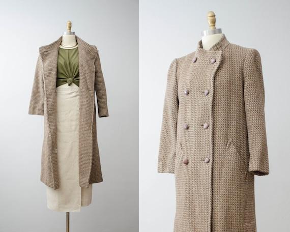 brown wool coat   tweed wool jacket