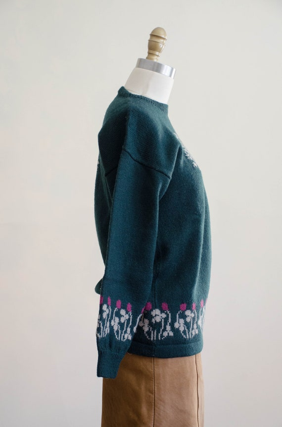 Holland & Holland sweater | green wool sweater | … - image 9