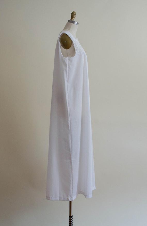 white eyelet nightgown | eyelet lace nightgown - image 7