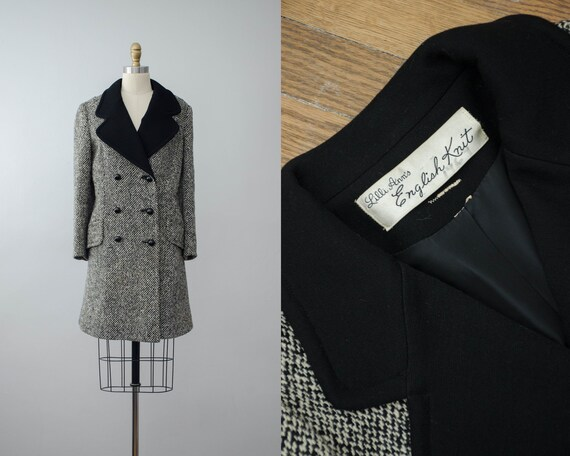 Lilli Ann coat | 1960s tweed wool coat