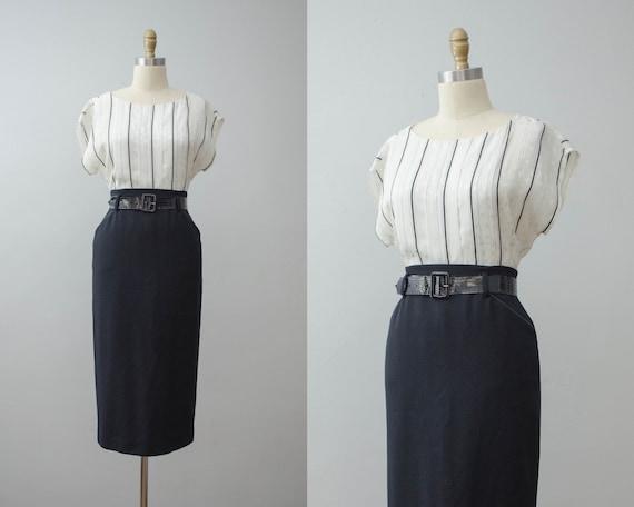black pencil skirt | Ralph Lauren wool skirt