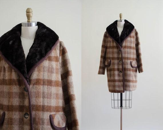 plaid wool jacket | plaid wool coat | 1970s men's