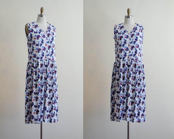 oversized midi dress | floral midi dress