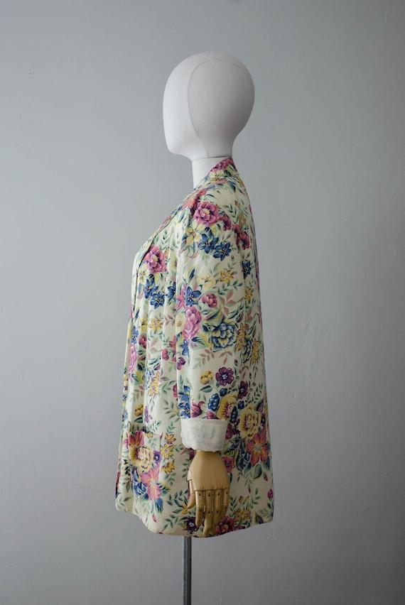 oversized floral blazer | boxy blazer | boxy flor… - image 5