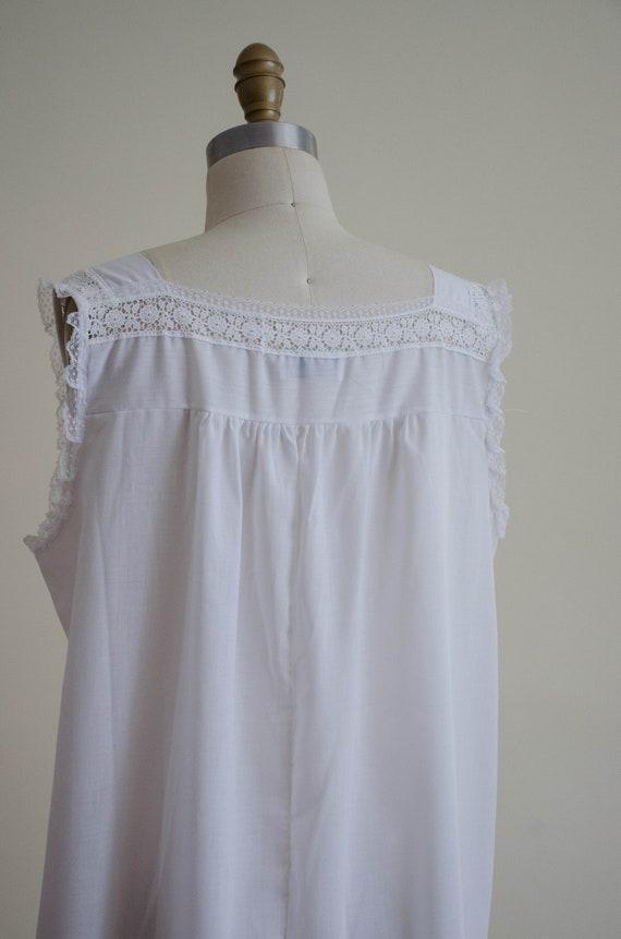 white eyelet nightgown | eyelet lace nightgown - image 9