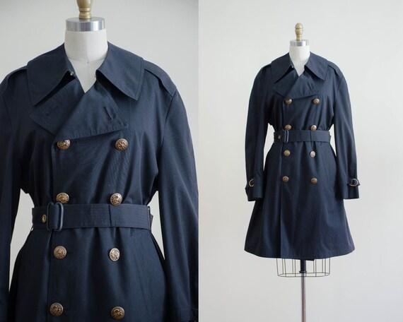 black belted coat | black trench coat