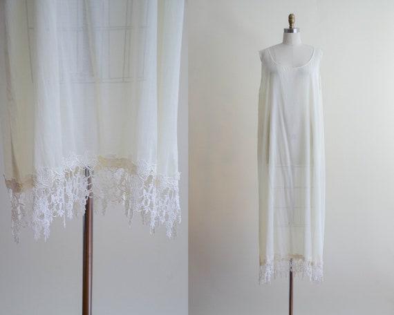 oversized maxi dress | sleeveless ivory maxi dress
