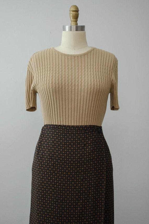 hunting scene maxi skirt | maxi wrap skirt - image 2