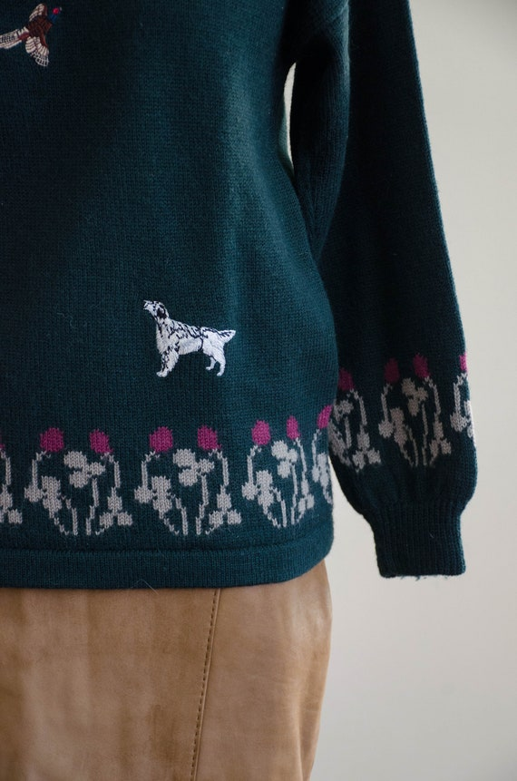Holland & Holland sweater | green wool sweater | … - image 5