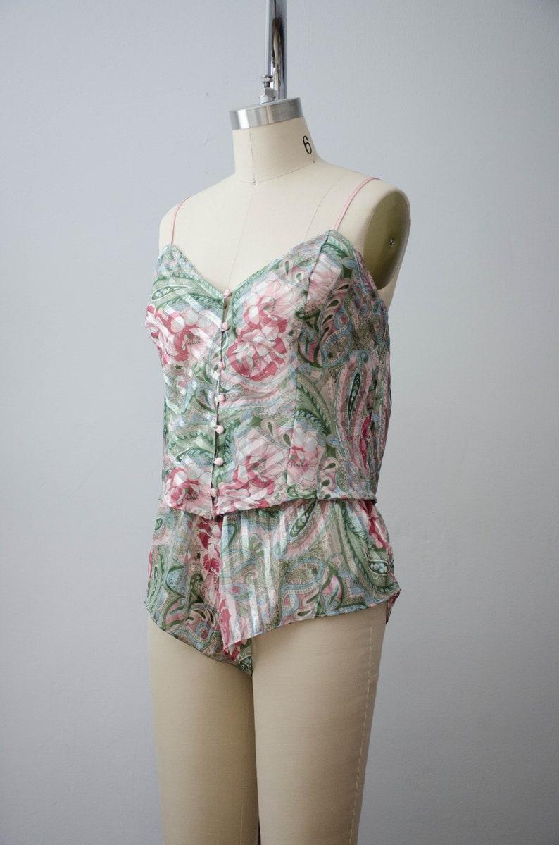 vintage lingerie set 90s Victoria/'s Secret sheer lingerie