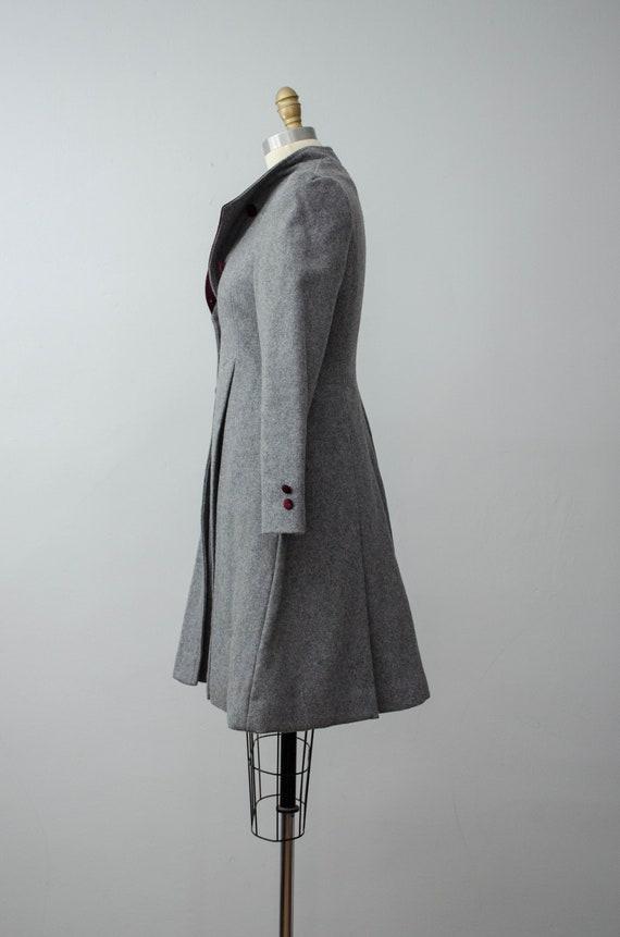 London Fog coat | gray princess coat | wool coat - image 8