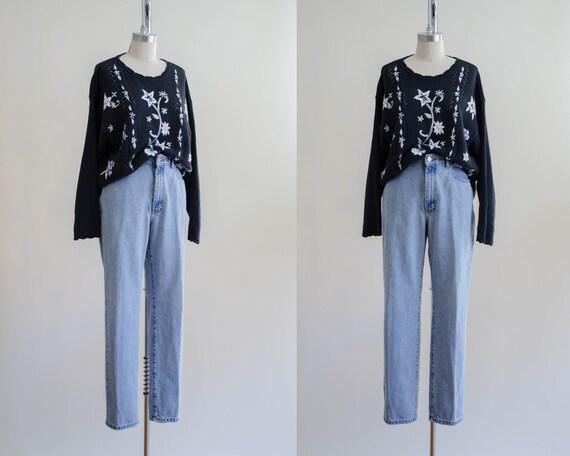 distressed jeans | vintage Calvin Klein jeans | fa