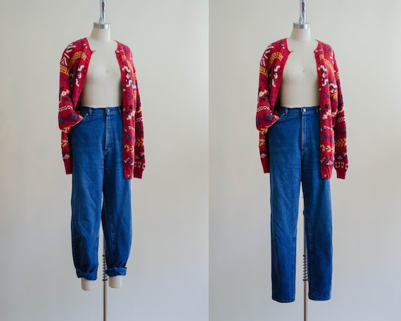 high waisted jeans | boyfriend jeans | mom jeans