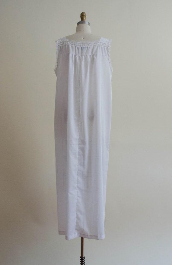 white eyelet nightgown | eyelet lace nightgown - image 8