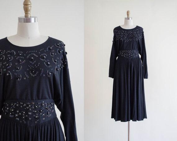 black skirt set | beaded skirt set | black midi sk