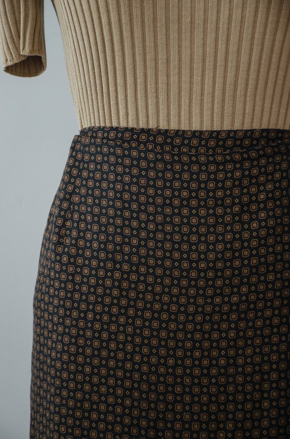 hunting scene maxi skirt | maxi wrap skirt - image 3