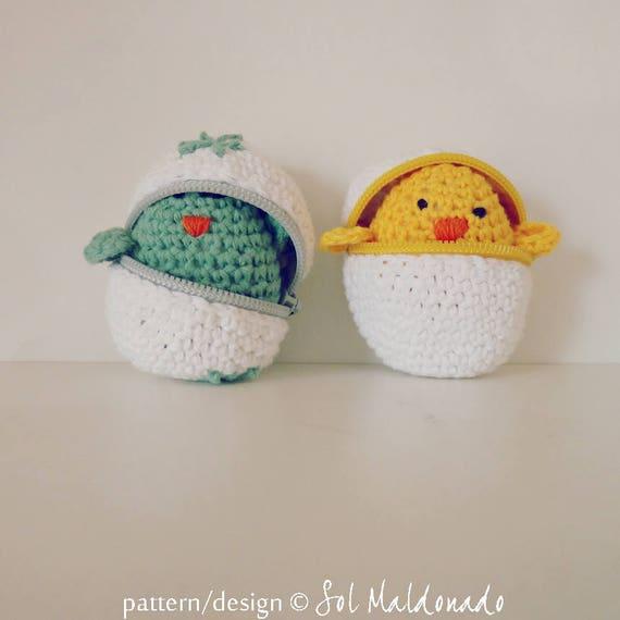 Crochet Pattern Easter Eggs Baby Chicks Crochet Amigurumi Etsy