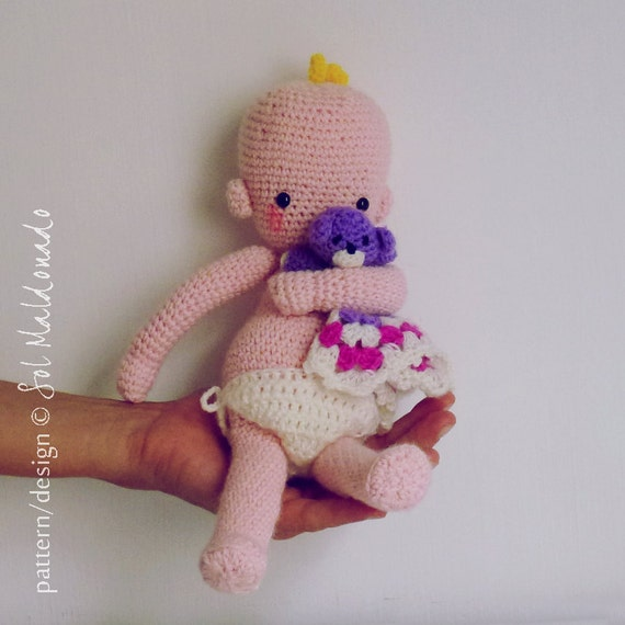 Crochet Pattern Amigurumi Doll Babies Crochet Baby Toy PDF Etsy Unique Crochet Baby Doll Pattern