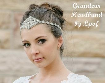 Weddings Bridal Headpiece Headpiece Wedding Headpiece Hair Jewelry Head Chain Head Jewelry Chain Hair Accessories Chain Headpiece BabyGrand